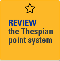 Review the Thespian point system.