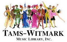 Tams-Witmark Music Library, Inc. http://www.tamswitmark.com/