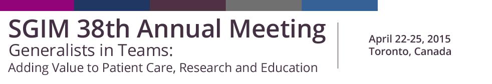 SGIM Annual Meeting