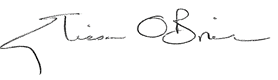 Elissa O'Brien Signature