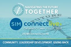 SIM Connect Live Logo