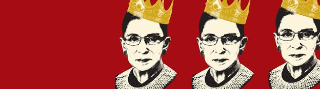 Promotional Image for the Skirball's RBG Exhibition