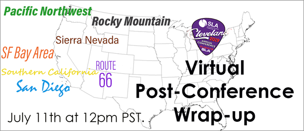 Virtual Post-Conference Wrap-Up 2019 banner