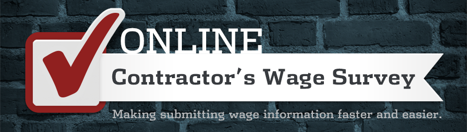 Contractor's Wage Survey