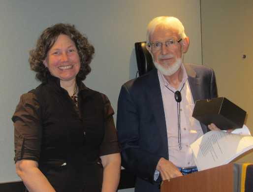 Susan with John Fitzpatrick
