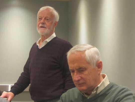 Roger Pilkington remembering Colin Langford