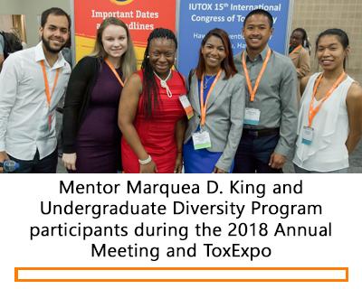 2018 Undergraduate Diversity Program participants