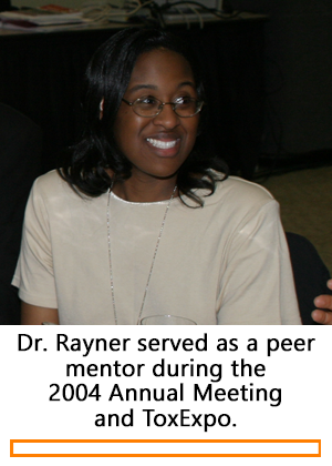 Jennifer Rayner during the 2004 Annual Meeting and ToxExpo