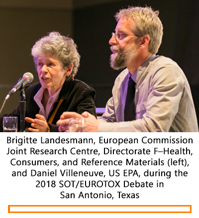 SOT/EUROTOX Debate at the 2018 SOT Annual Meeting and ToxExpo
