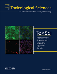 The February 2020 cover of Toxicological Sciences