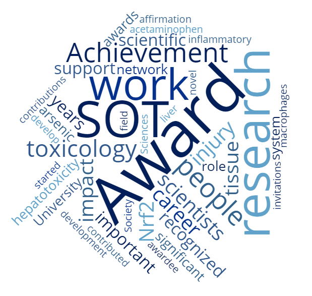 Achievement Award word cloud.png