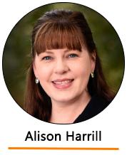 Headshot of Alison Harrill