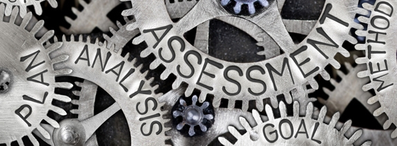 Image of gears with words about planning