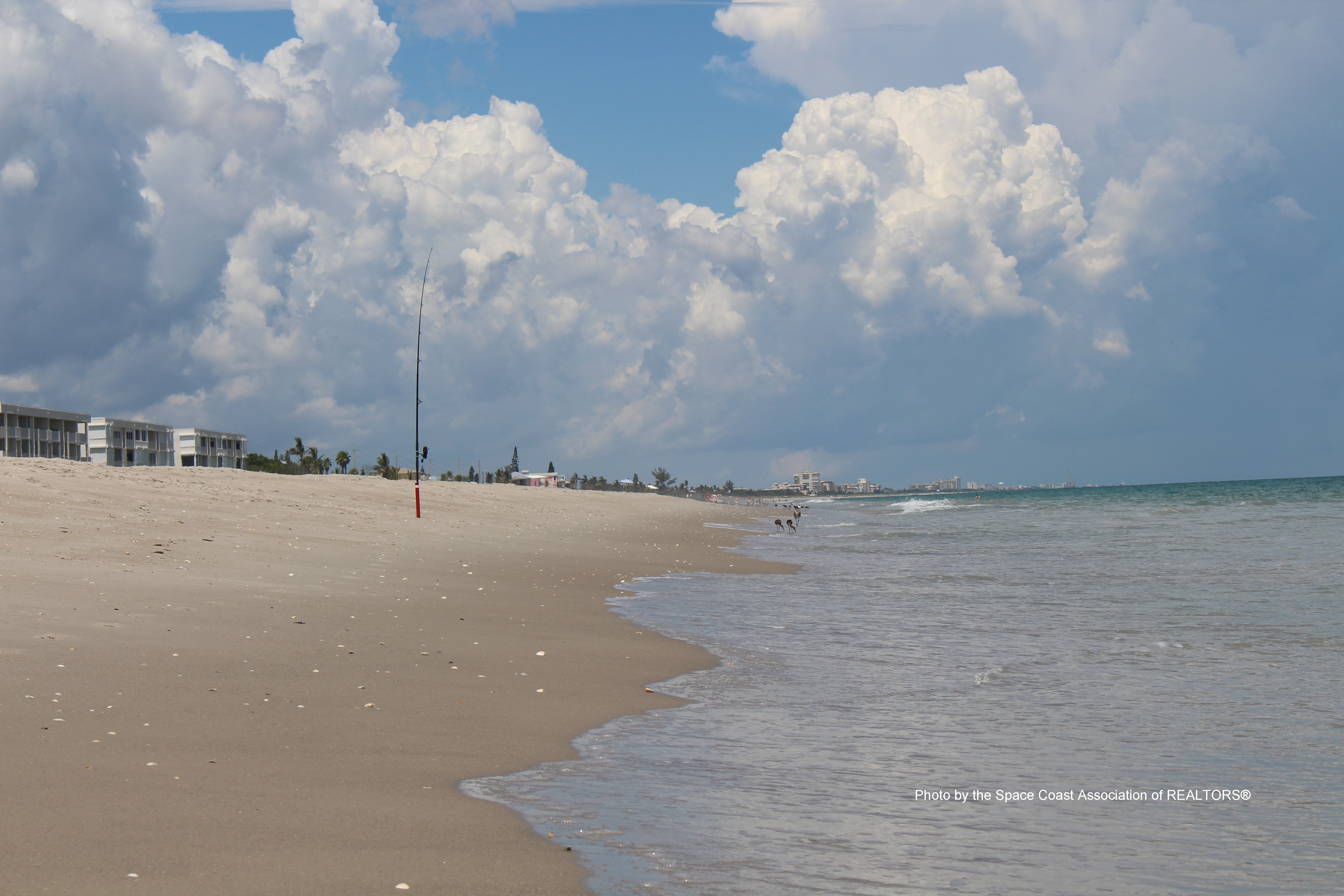 fishing at Melbourne Beach, Florida
