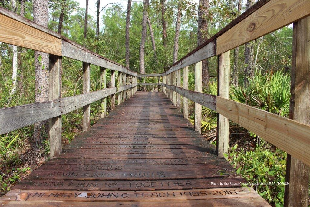 Turkey Creek boardwalk Palm Bay Florida