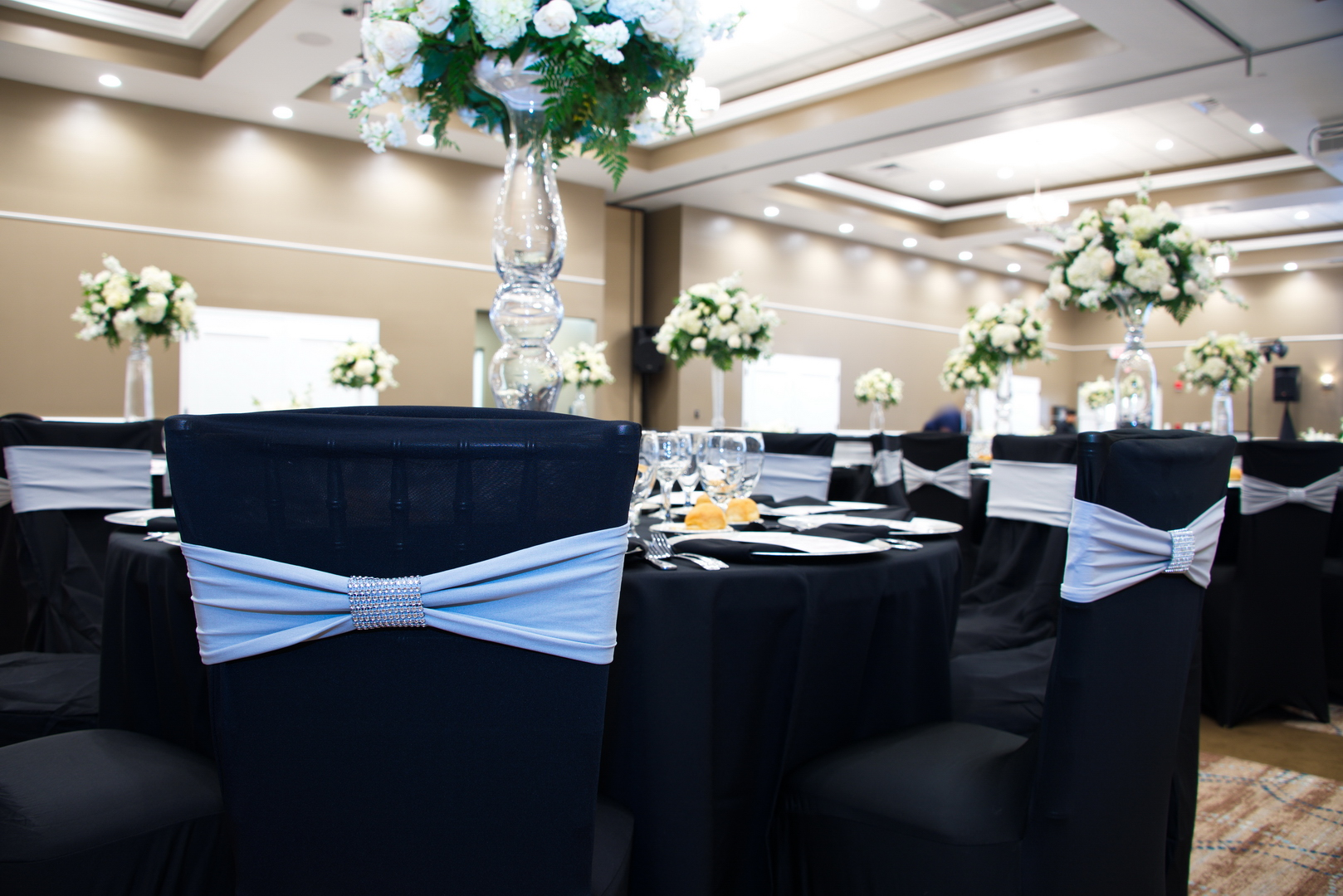 Chair covers Oasis at Palm Shores