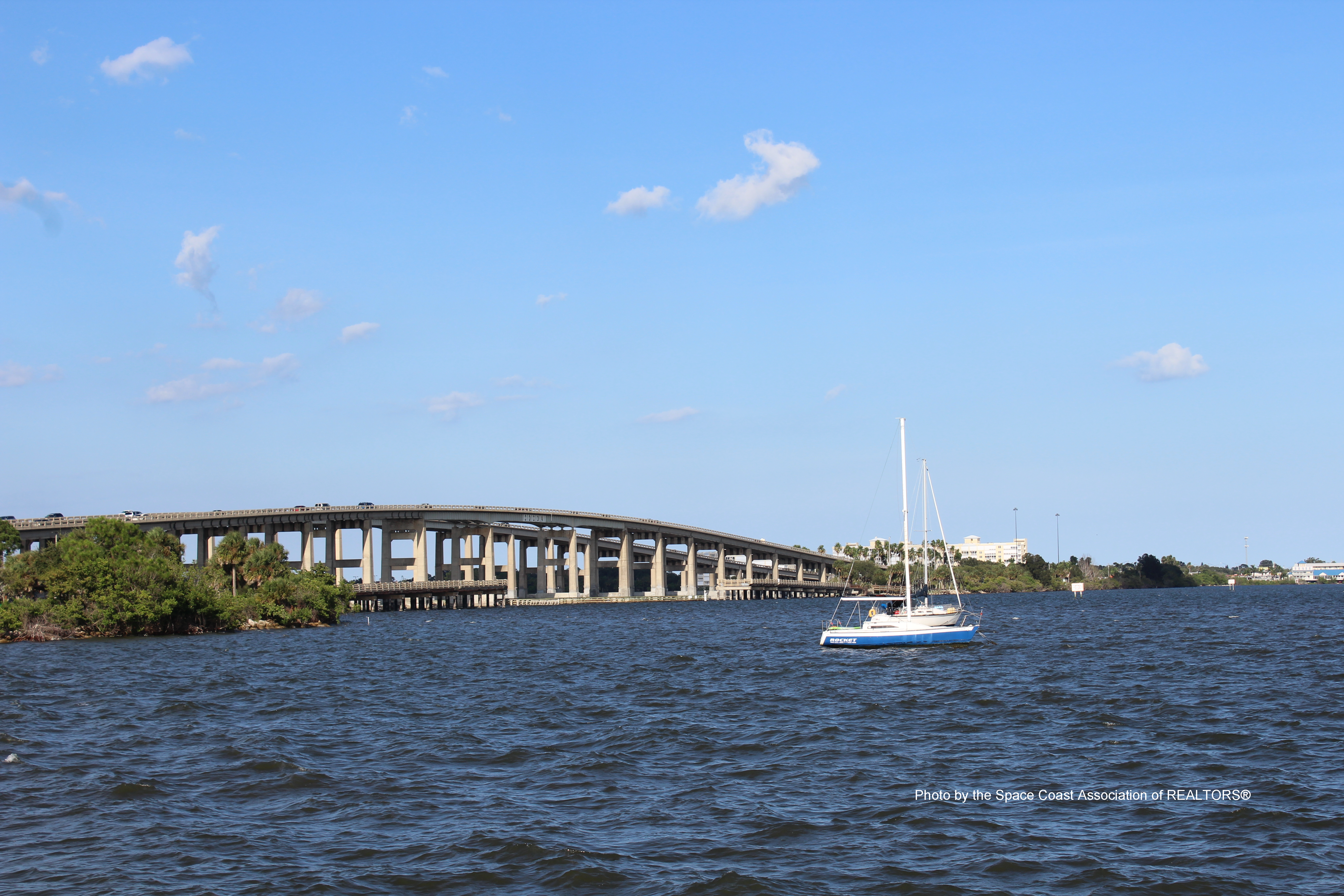 Cocoa Village, Florida overpass
