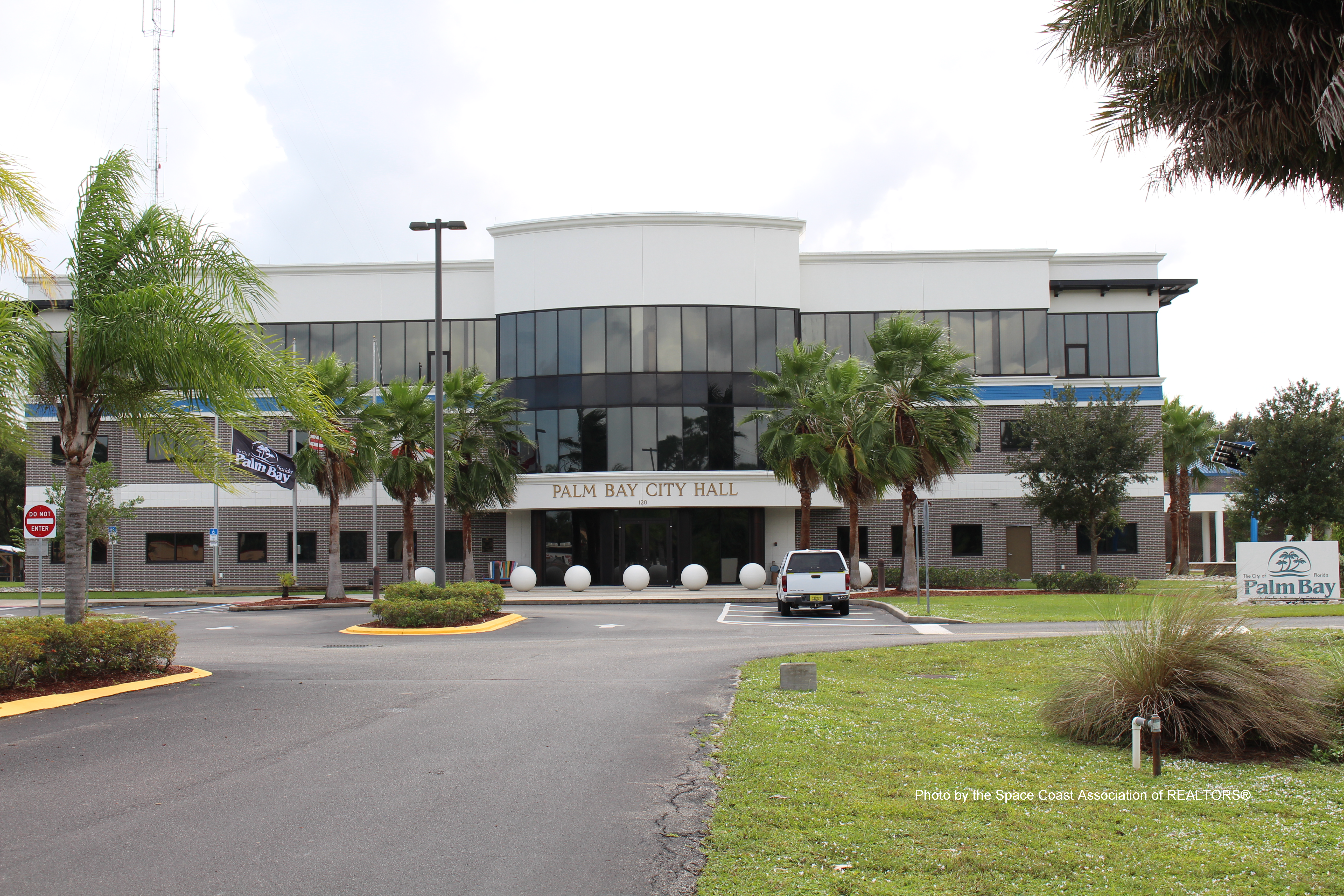 Palm Bay City Council building in Palm Bay, Florida