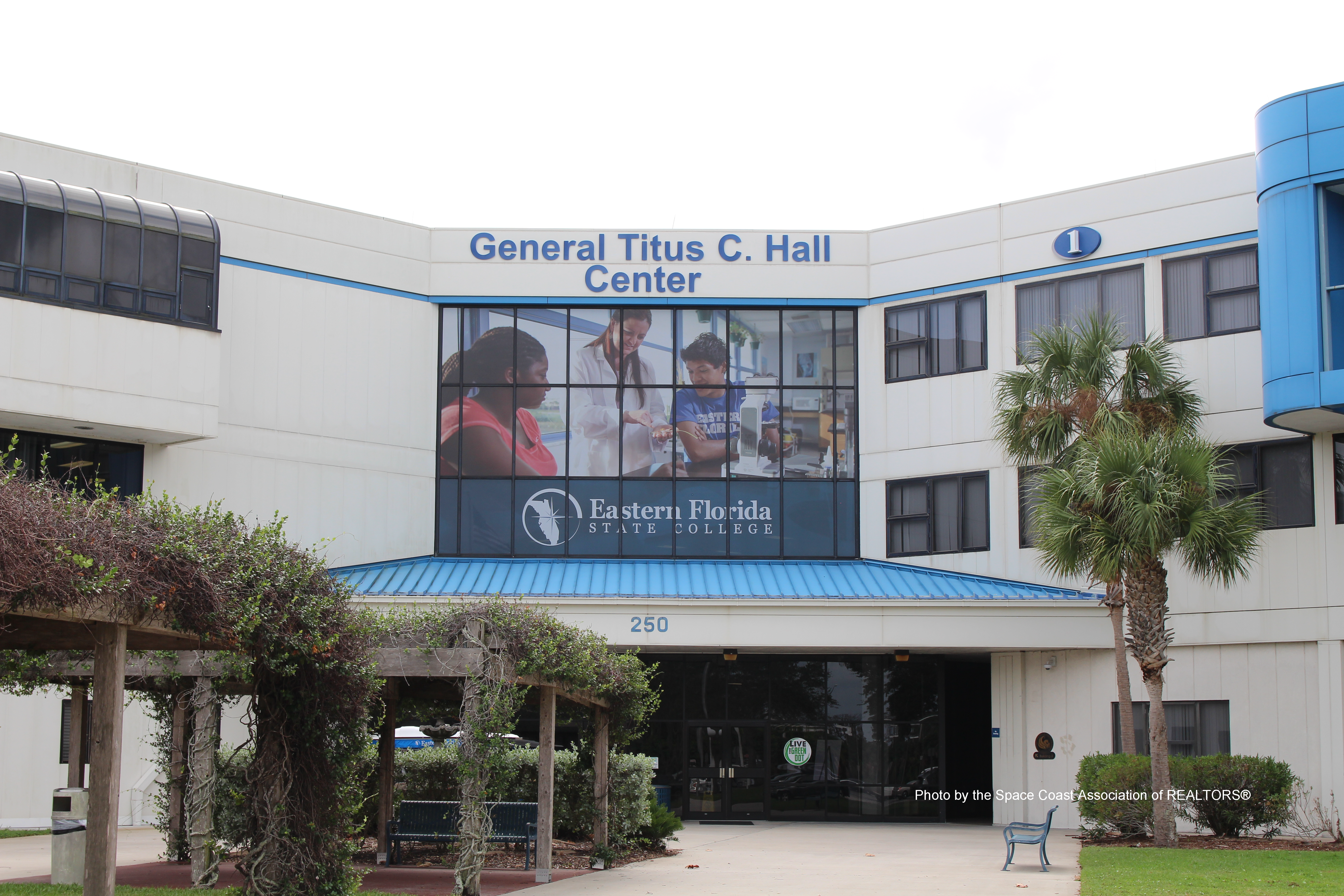 Eastern Florida State College Palm Bay campus General Titus C. Hall Center