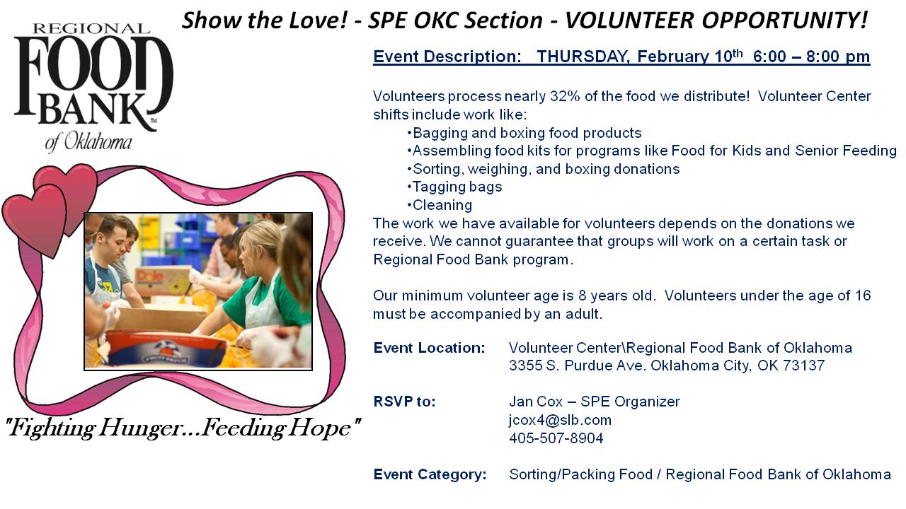 Regional Food Bank Of Oklahoma Volunteer Event Oklahoma City Section