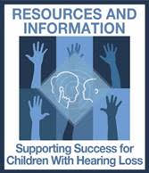 Logo for Supporting Success for Children with Hearing Loss