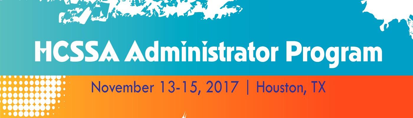 Administrator Program 2017