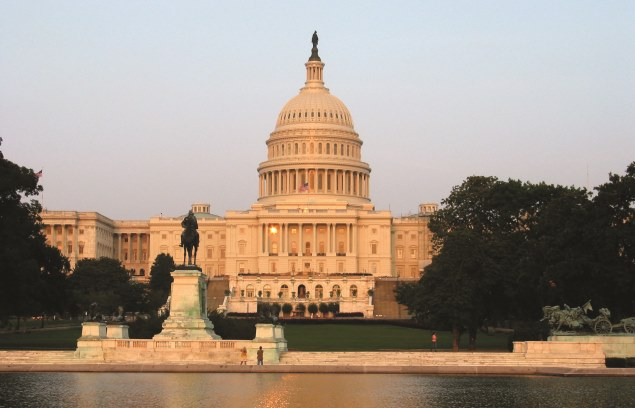 Capitol Hill in Washington DC