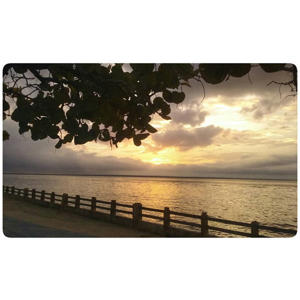Dusk at Lago de Maracaibo