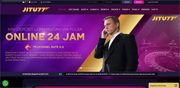 Situs Judi Slot Online Terpercaya, Judi Online Terbaik Indonesia 2021 JITU77