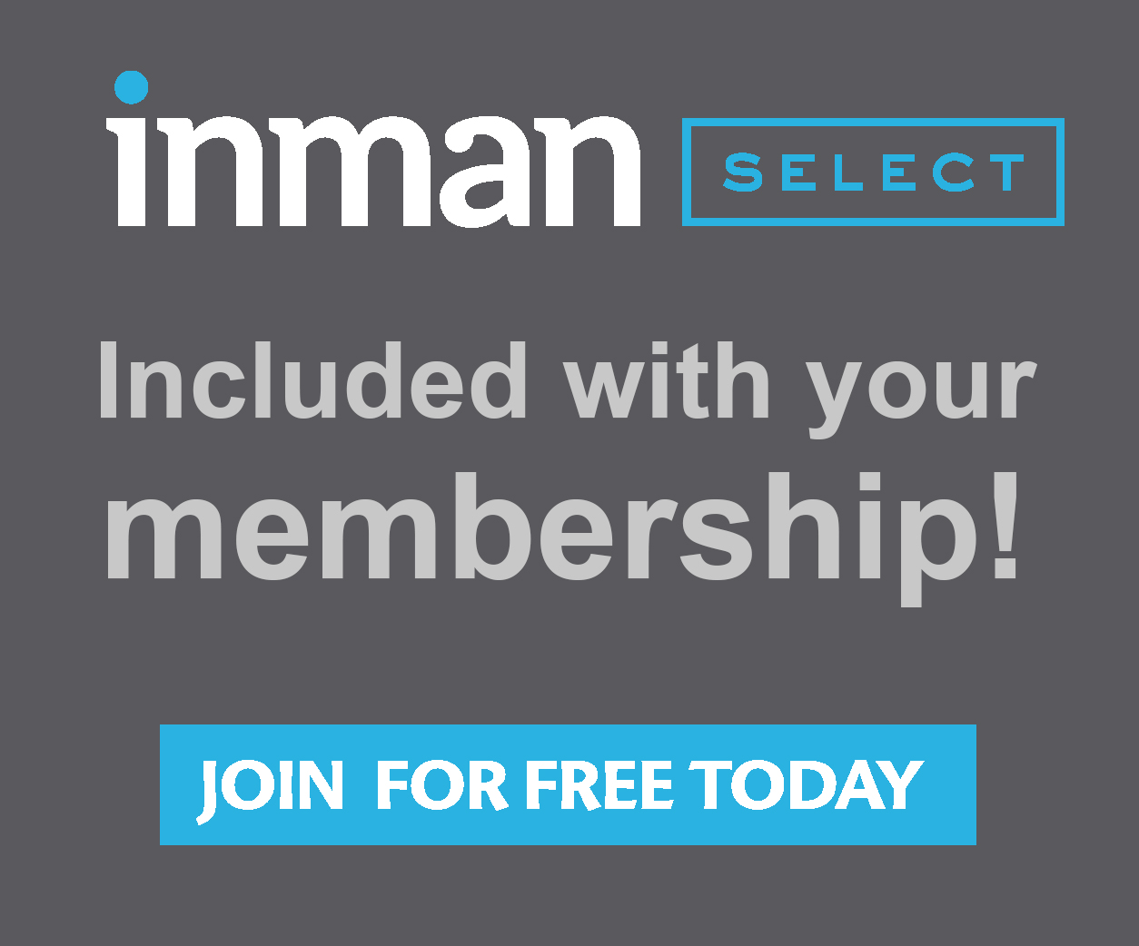 Sign up for Inman Select