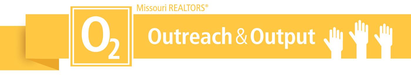 outreach and output