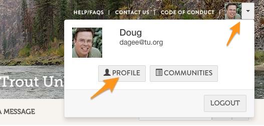 profile access