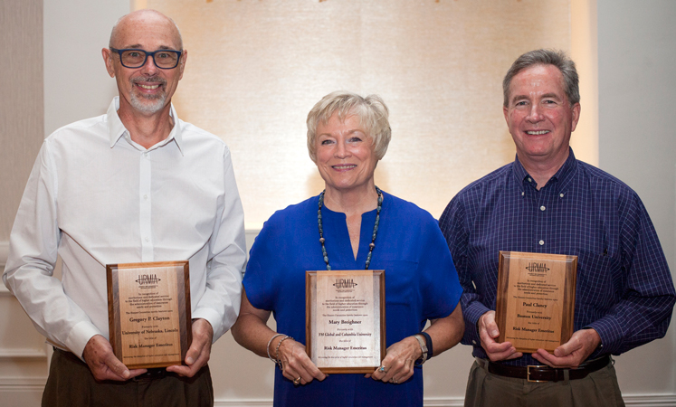 URMIA's 2016 Emeritus Award Recipients
