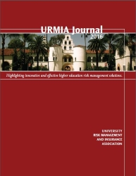 Thumbnail of the URMIA 2016 Journal Publication