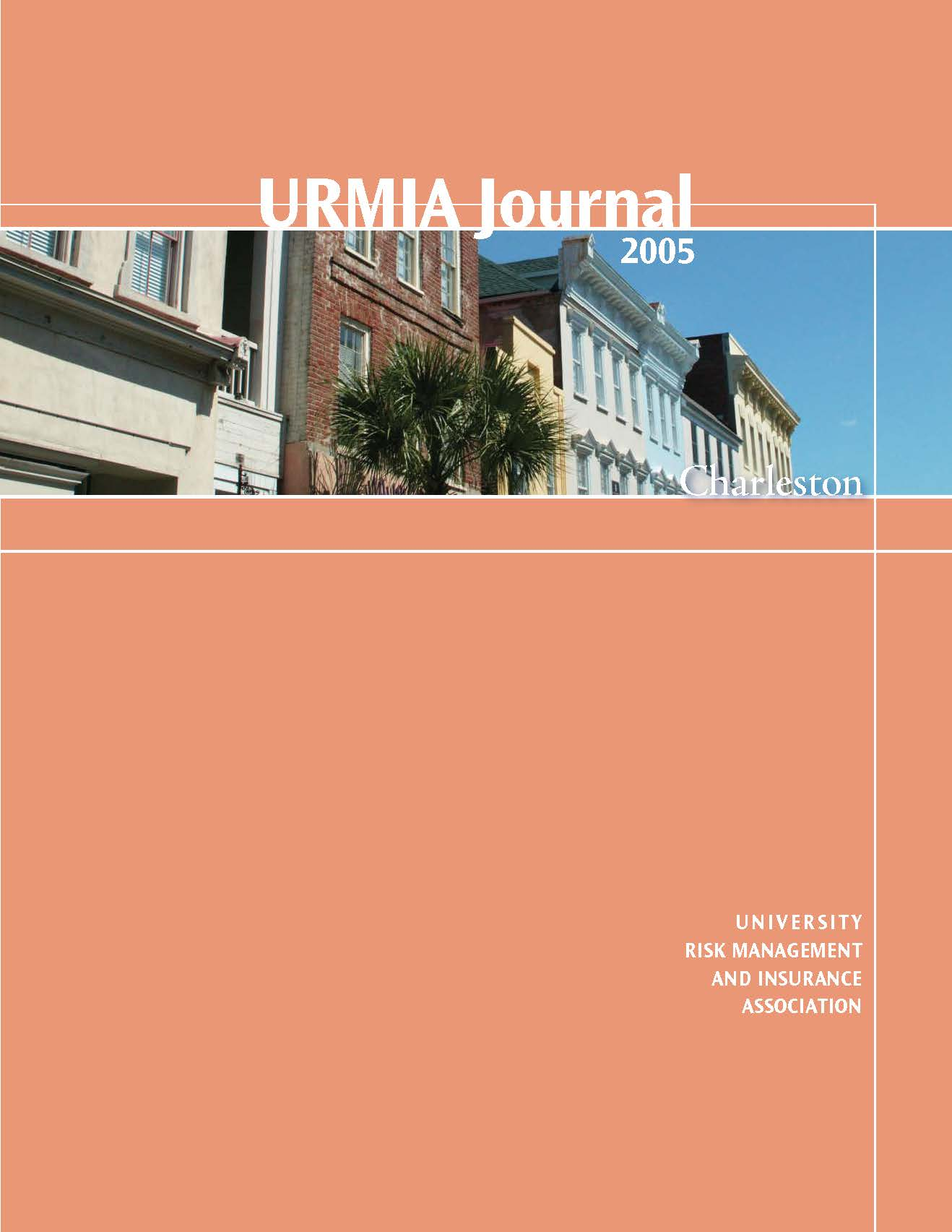 2005 URMIA Journal