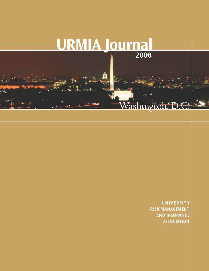 2008 URMIA Journal