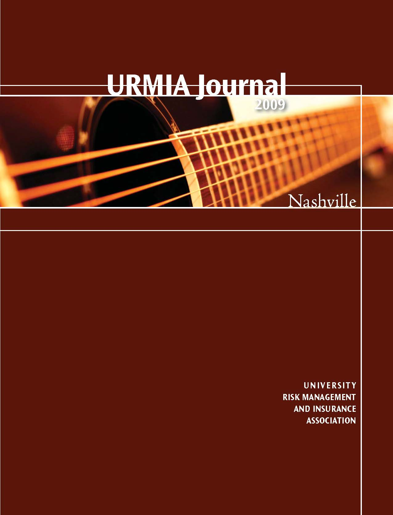 2009 URMIA Journal
