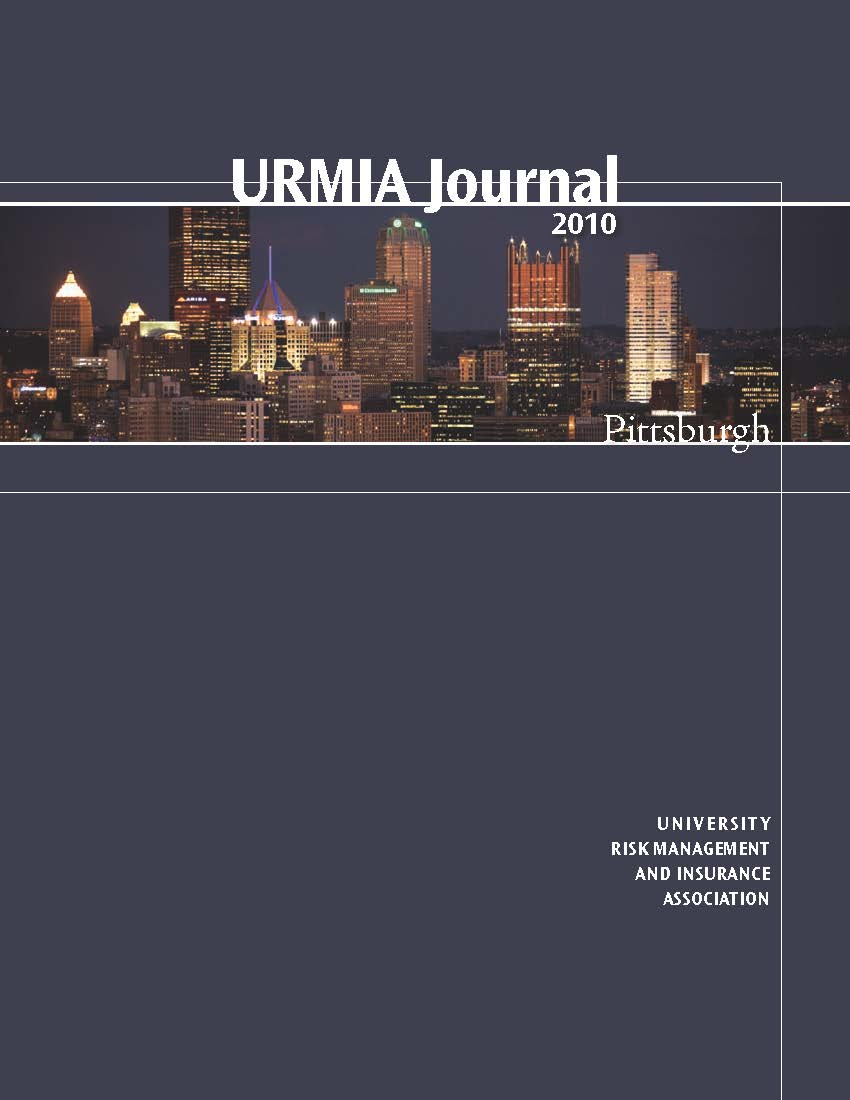 2010 URMIA Journal