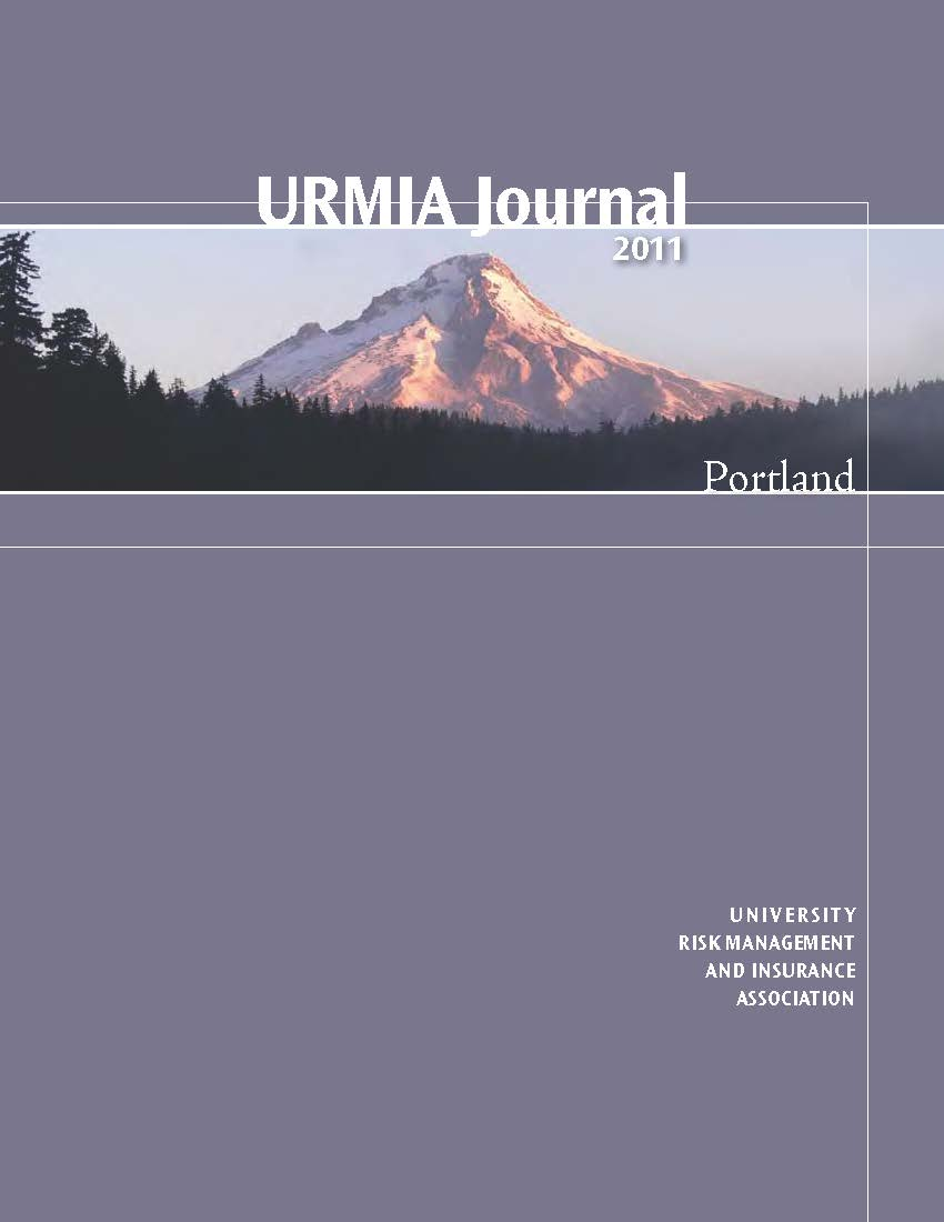 2011 URMIA Journal