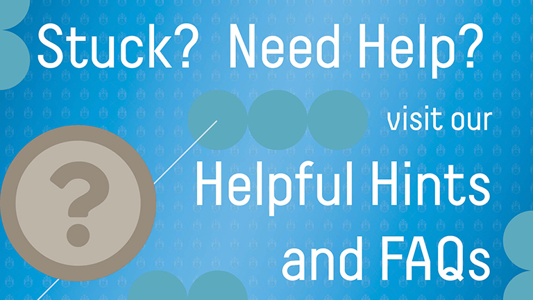 Heloful Hints & FAQs