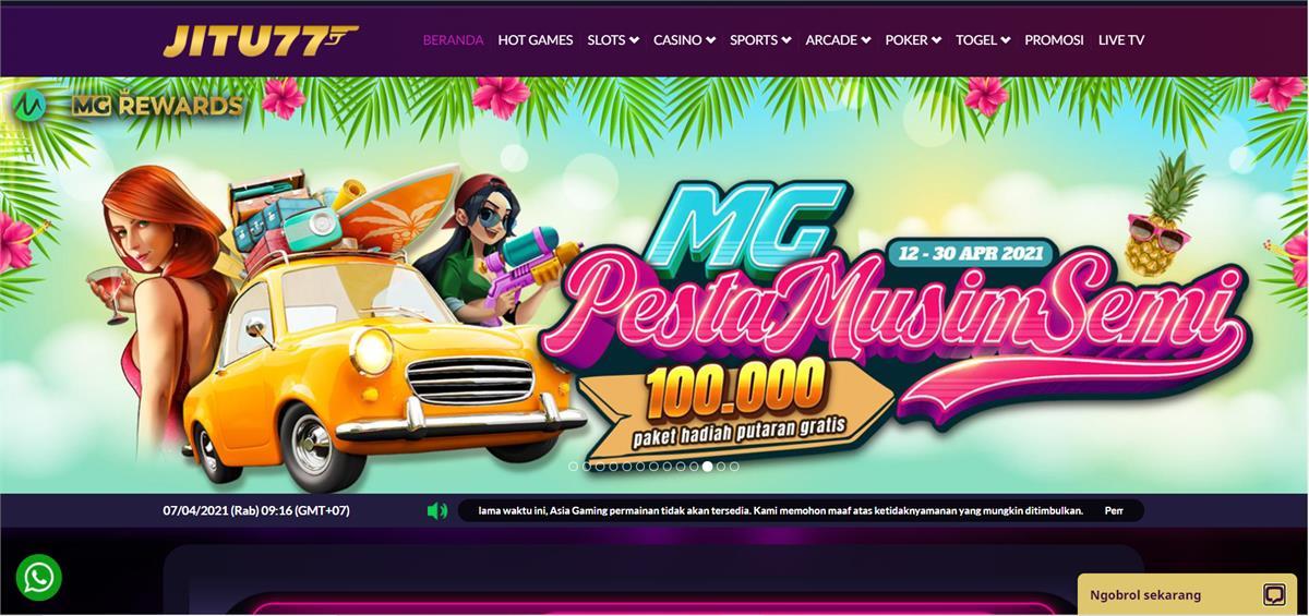 Daftar Situs Judi Slot Online Terpercaya Uang Asli di Indonesia
