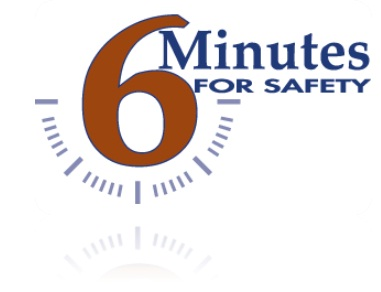 6 Minutes for Safety Logo