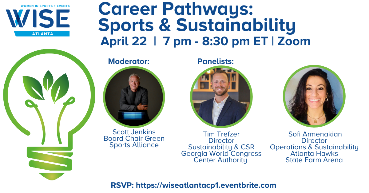 Image of WISE Career Pathways - Sports & Sustainability
