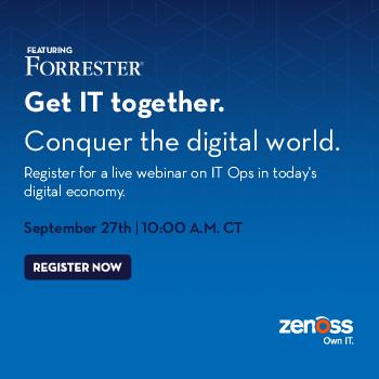 Forrester IT Ops Webinar
