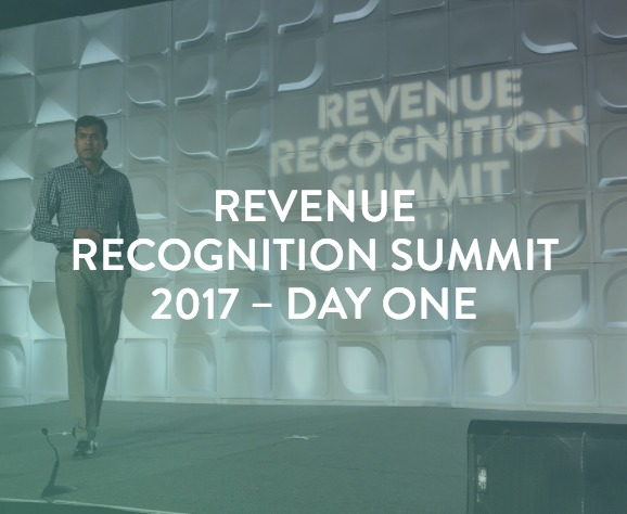 RevRec Summit Day 1