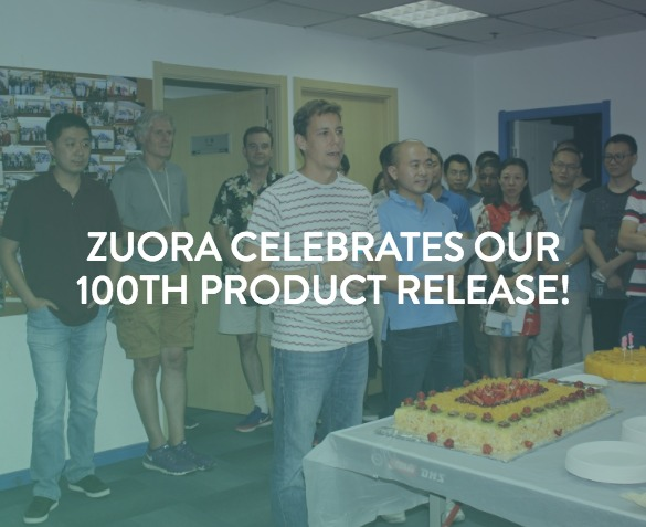 100th Product Release Zuora