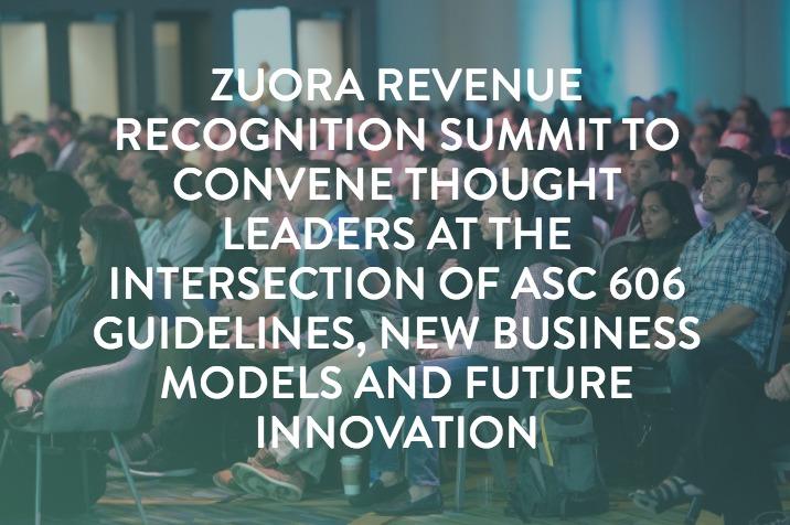 Revenue Recognition Summit