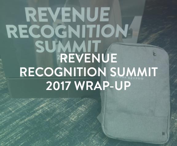 RevRec Summit Wrap-up