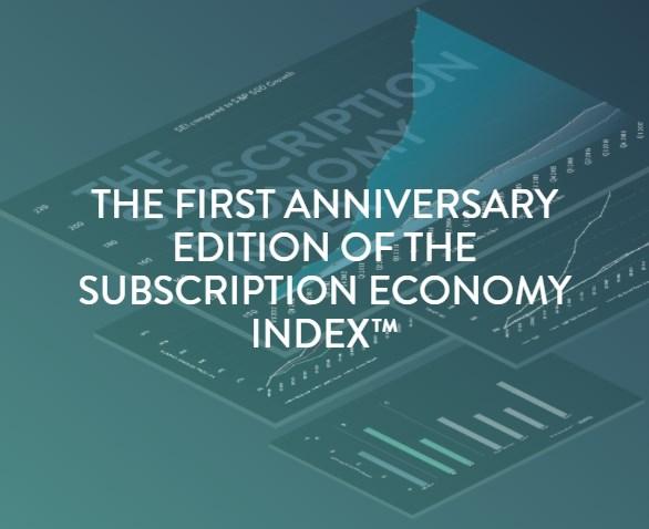 Anniversary Subscription Economy Index