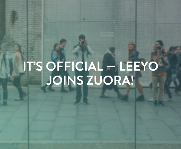 Leeyo Joins Zuora